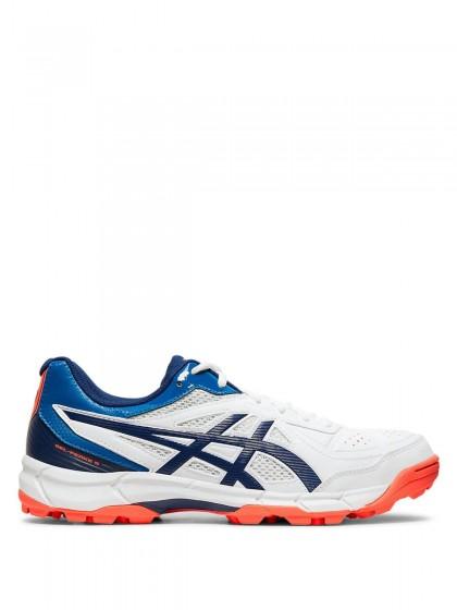 Buy ASICS Men's Gel Gully 5 WhiteRed Alert Cricket Shoes 13