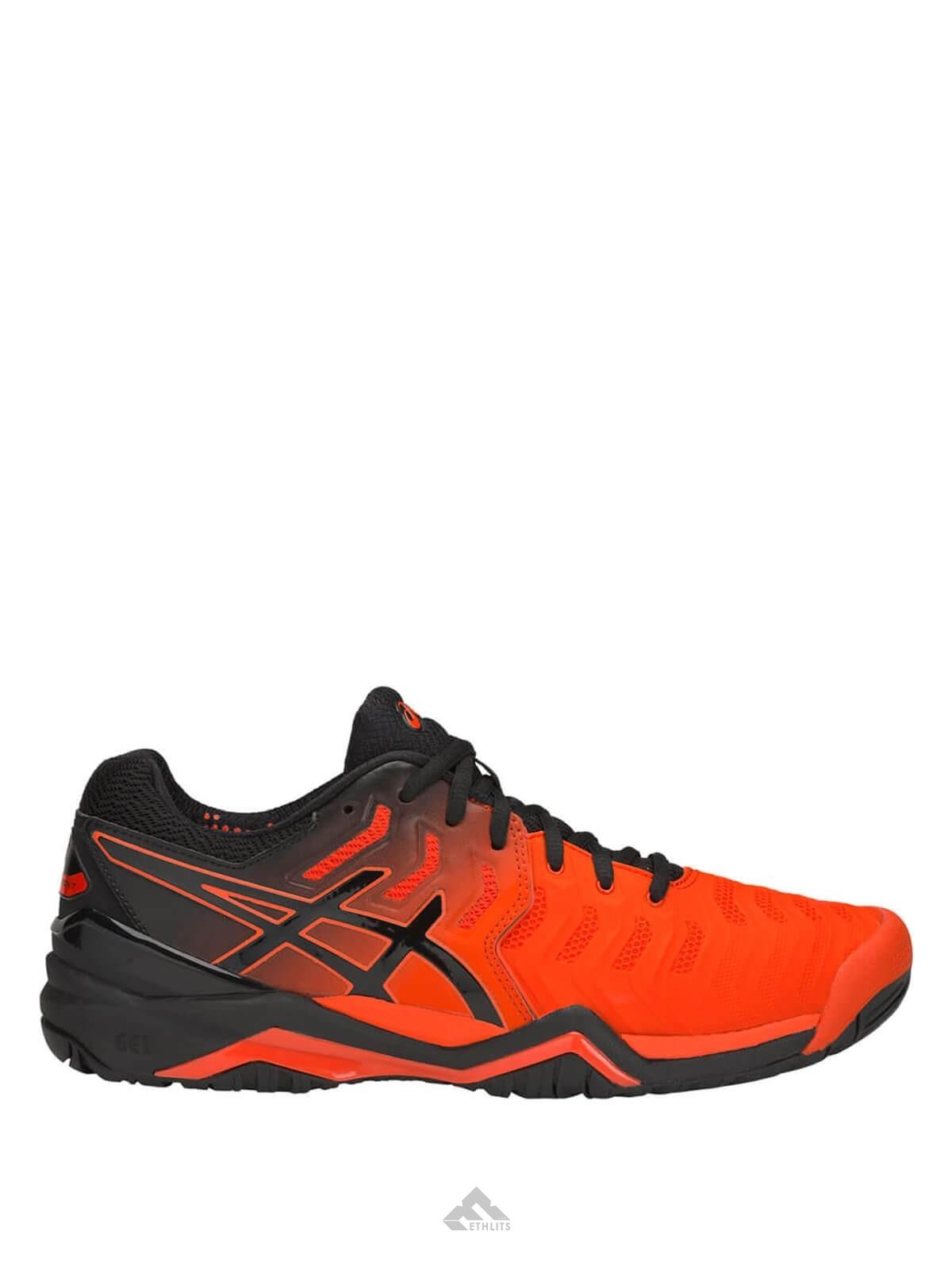 esponja Amigo por correspondencia Soportar  Buy Asics GEL-Resolution 7 Red Cherry Tomato/Black Tennis Shoes Online in  India at Best Price, Reviews