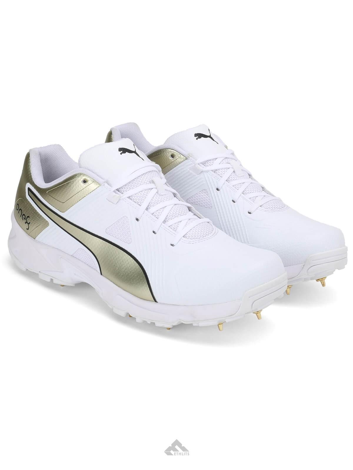 Buy Puma Virat Kohli X Spike 19 1 Gold White Collectors